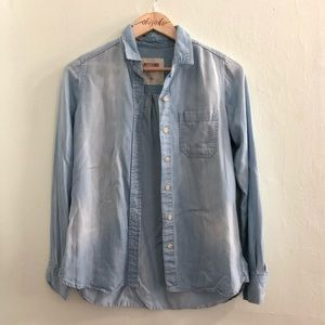 Mossimo Supply Co. Chambray Button Up